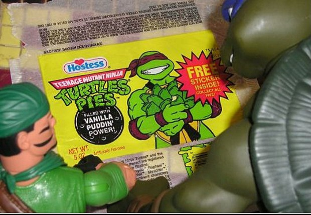 Teenage Mutant Ninja pies