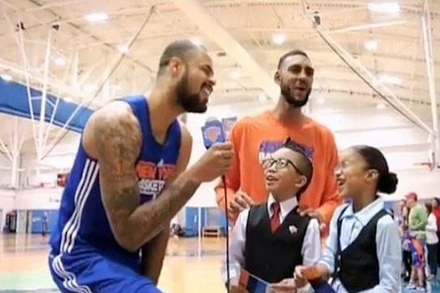 Tyson Chandler singing