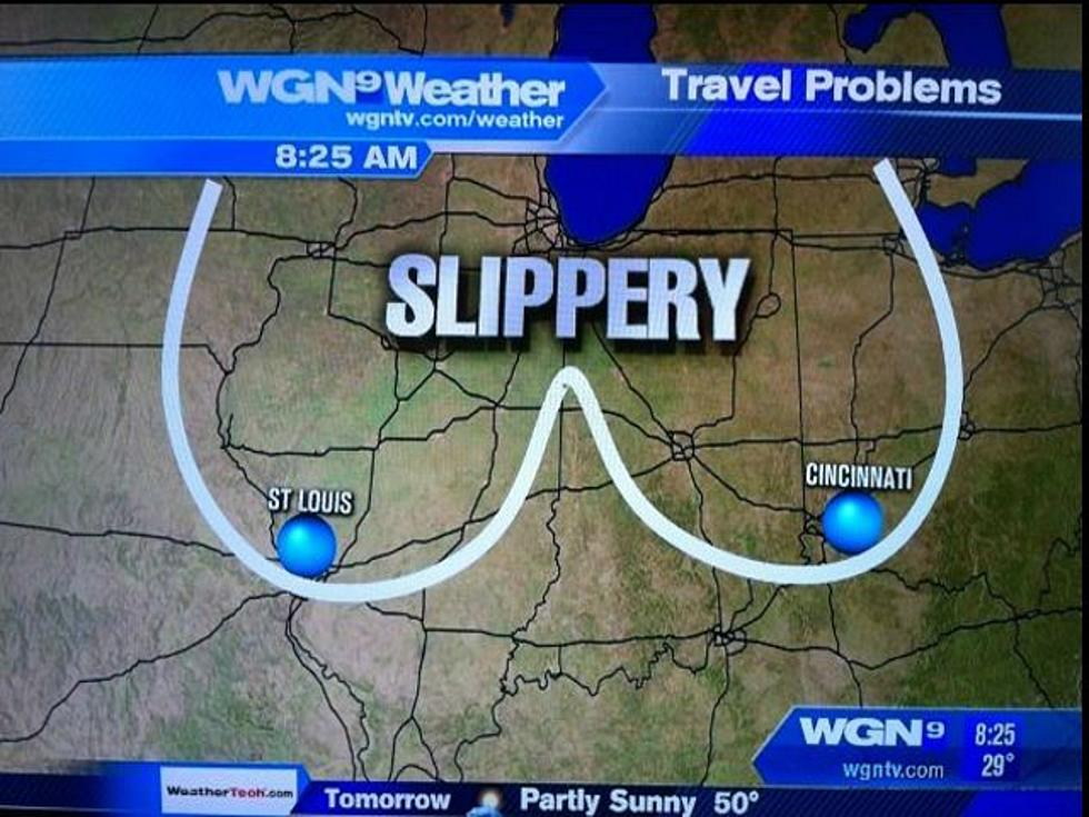 Does This Weather Map Drawing Look Like Something Naughty? [IMAGE]