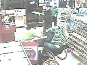 Wheelchair-Bound Man Thwarts Robbery