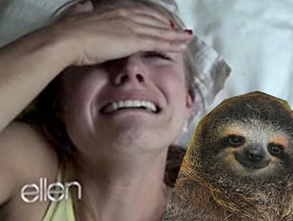 K Bell Sloth Kristen Bell Has a Mel...