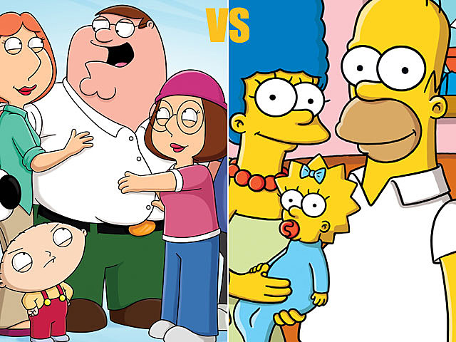 'Family Guy' vs. 'The Simpsons'