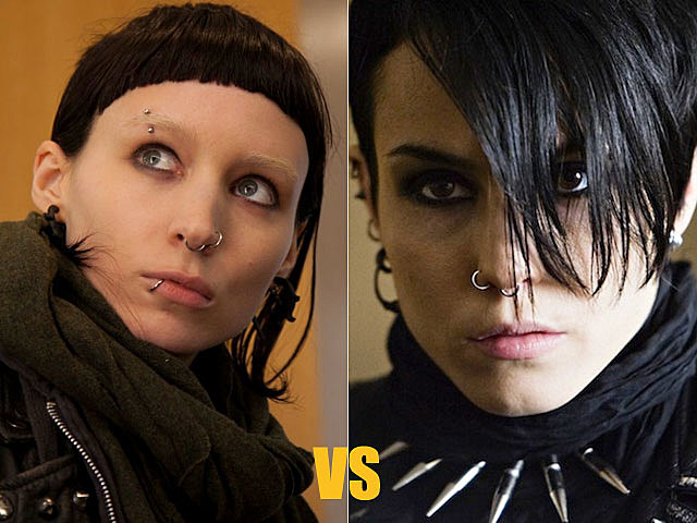 Rooney Mara vs. Noomi Rapace, 'Girl with the Dragon Tattoo'