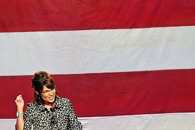 Sarah Palin republican american flag vice presidential candidate the undefeated oscar nomination