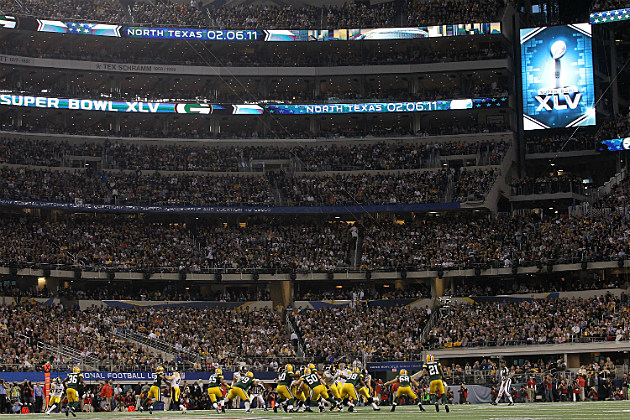 Super Bowl XLV in Arlington, TX