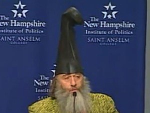 vermin  supreme presidential candiate ponies dental