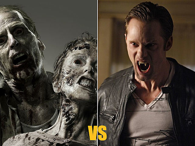 'The Walking Dead' vs. 'True Blood'