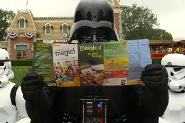 10 Commercials Starring Darth Vader