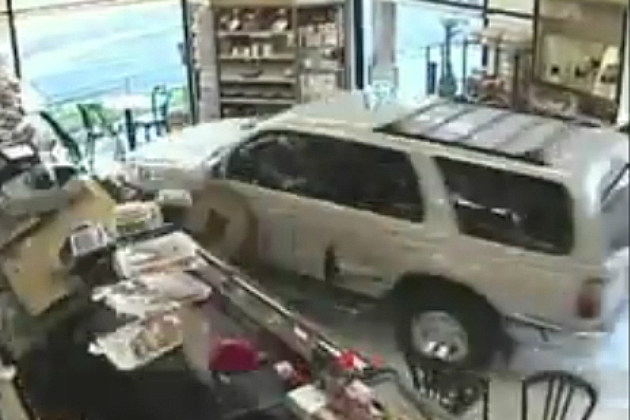10 Examples of Bad Drivers Crashing Into Homes and Storefronts