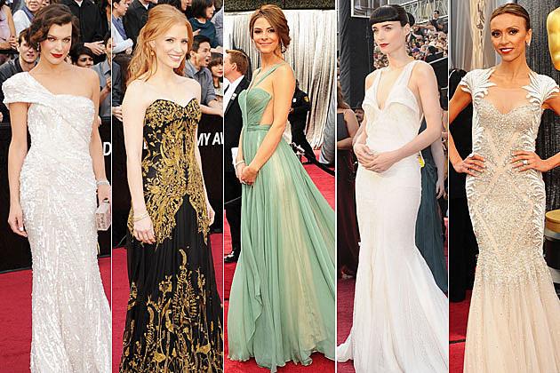 2012 Oscars best dressed