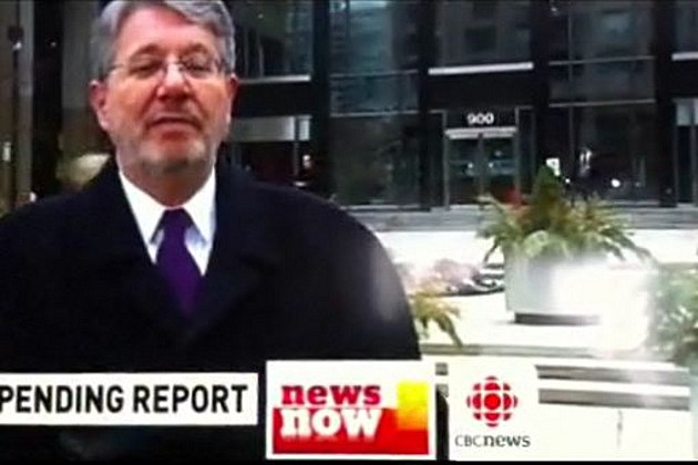 CBC newscast