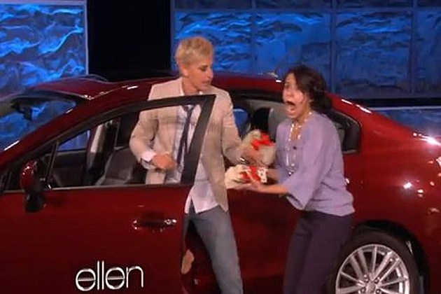 Ellen Single Mom car