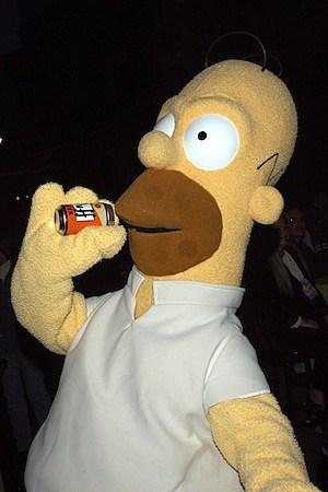 tomtom homer simpson gps sat nav