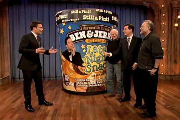 Jimmy Fallon Ben & Jerry