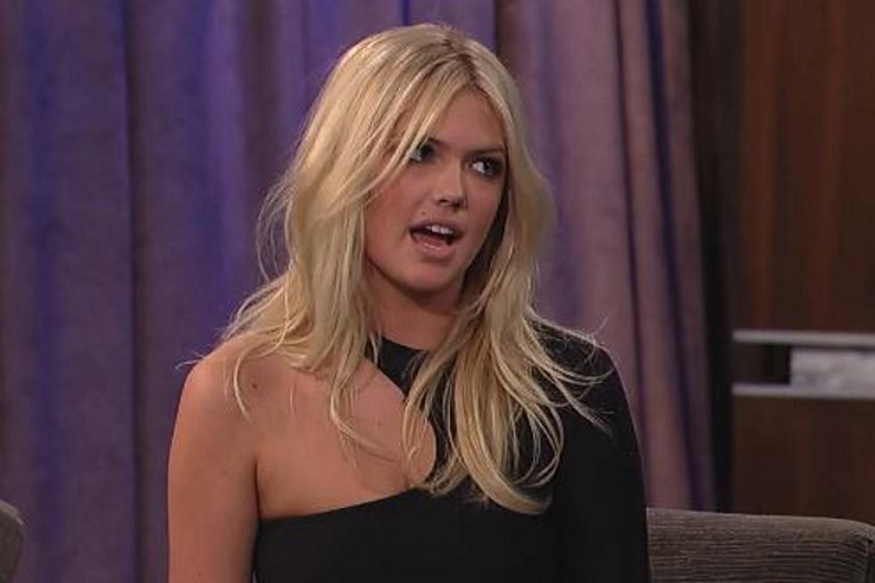 Kate Upton Talks About \'Dougie\' Viral Video on Jimmy Kimmel