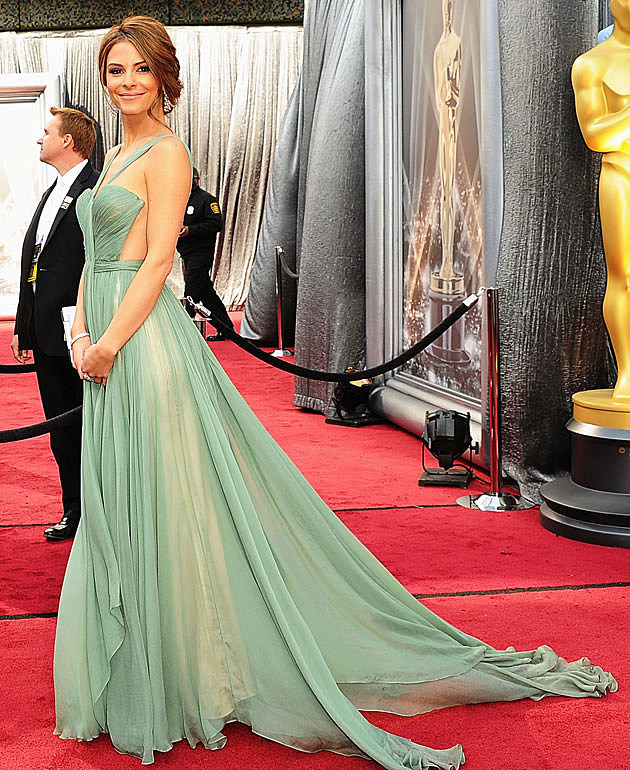 Maria Menounos 2012 Oscars best dressed