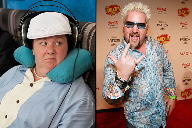 Melissa McCarthy, Guy Fieri, 'Bridesmaids'