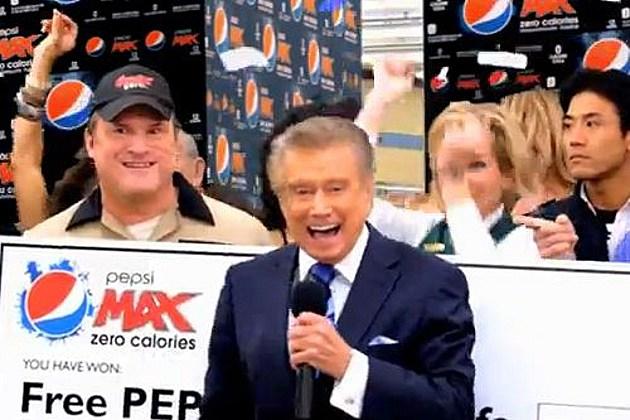 Regis Philbin Pepsi Max