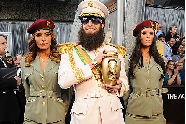 Sacha Baron Cohen 2012 Oscars Worst Dressed