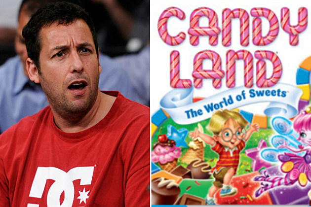 Adam Sandler and Hasbro's Candy Land game
