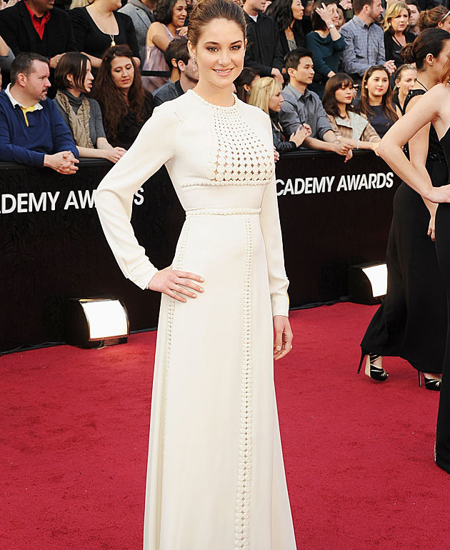 Shailene Woodley 2012 Oscars worst dressed