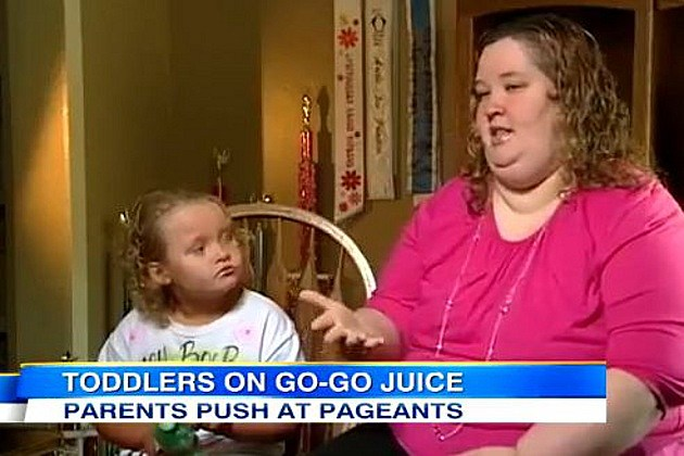 Toddlers and Tiaras go go juice