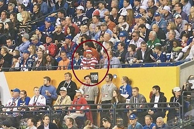 Waldo at Super Bowl