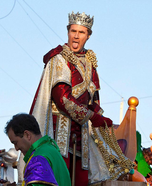 Will Ferrell Mardi Gras
