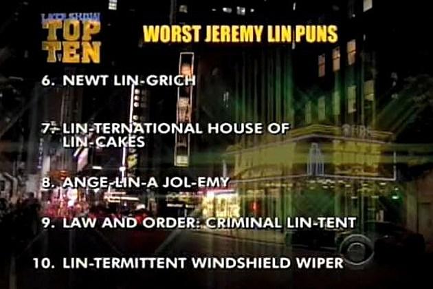 Worst Jeremy Lin puns