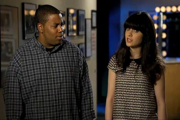 Zooey Deschanel Kenan Thompson