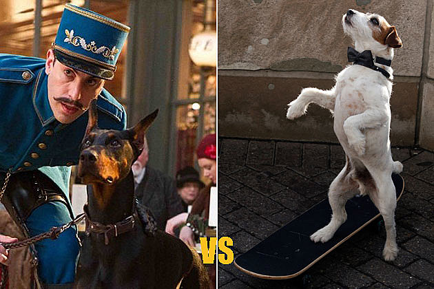 Blackie 'Hugo' vs. Uggie 'The Artist'