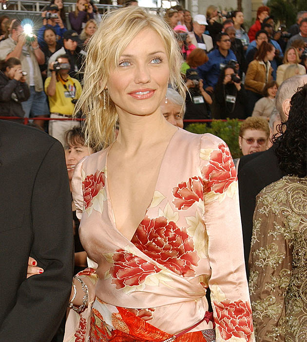 Cameron Diaz's weird Oscars dress