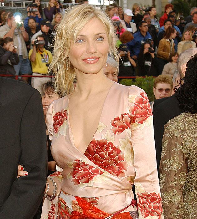 Cameron Diaz's weird Oscars dress