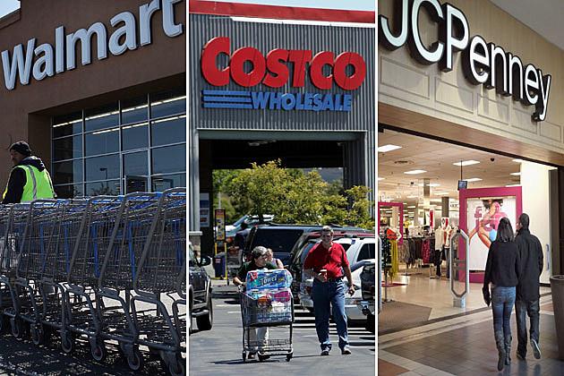 Costco, Walmart, JCPenney
