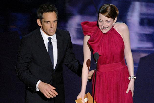 Emma Stone 2012 Oscars