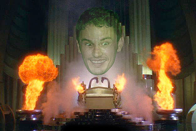 James Franco as The Wizard of Oz
