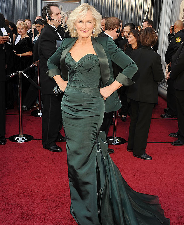 Glenn Close 2012 Oscars worst dressed