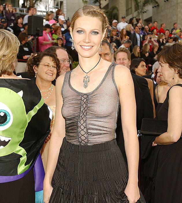 Gweneth Paltrow's weird Oscars dress