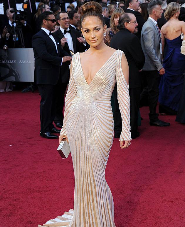 Jennifer Lopez 2012 Oscars Best Dressed