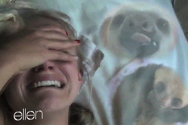 kristen bell sloth crying ellen auto-tune the news