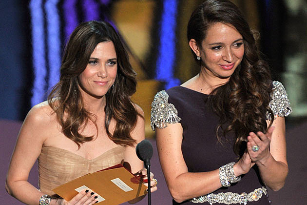 Kristen Wiig, Maya Rudolph 2012 Oscars
