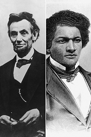 frederick douglass and abraham lincoln leadership styles Frederick douglass was an outspoken abolitionist, prominent speaker and respected author who fought for slavery freedom, women's suffrage and equal rights for all douglass believed that the united states constitution was, effectively, an anti-slavery document and used this and his powerful oratory skills to argue for the freedom of slaves.
