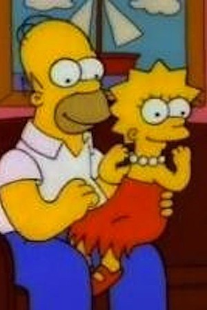 homer lisa the greek the simpsons football super bowl
