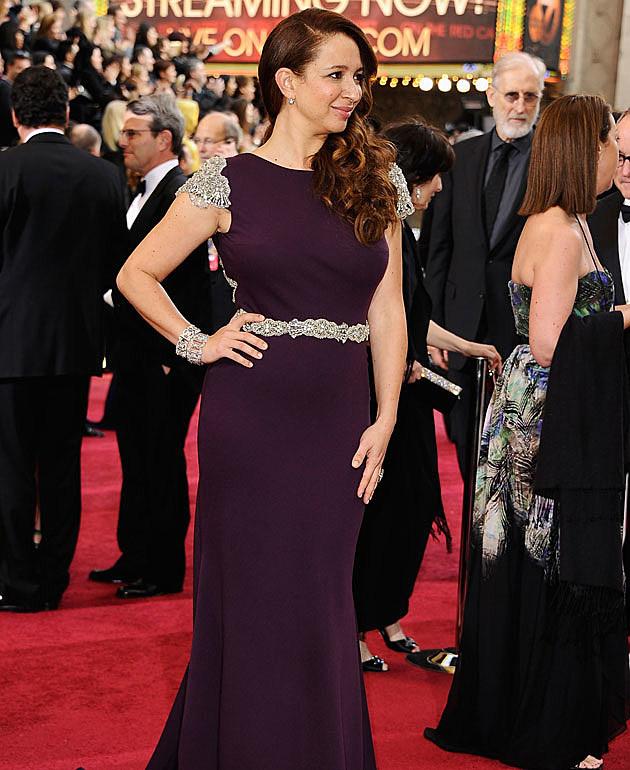 Maya Rudolph 2012 Oscars Best Dressed