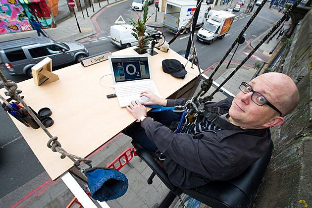 O2 Work From Anywhere stunt