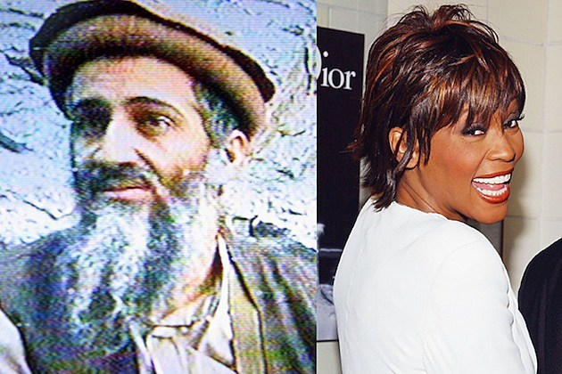 osama bin laden whitney houston