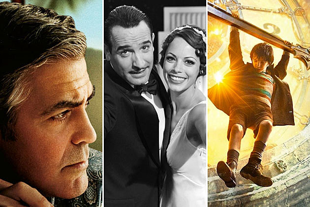 Oscars - 'The Descendants,' 'The Artist,' 'Hugo'