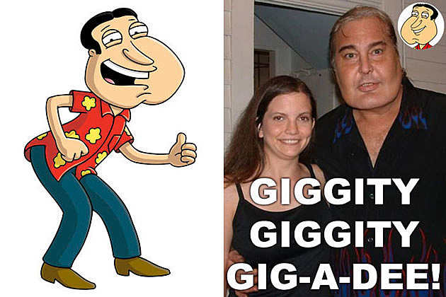 real life Quagmire from 'Family Guy'
