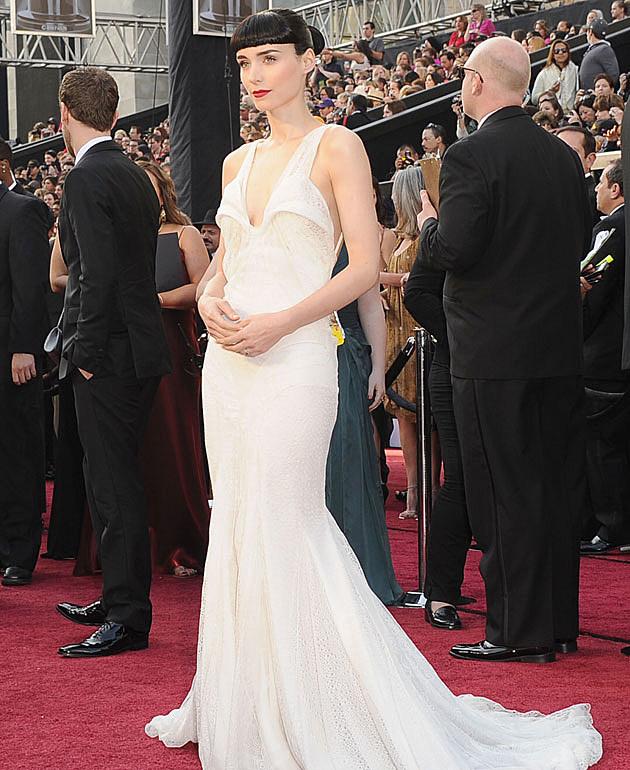 Rooney Mara 2012 Oscars best dressed