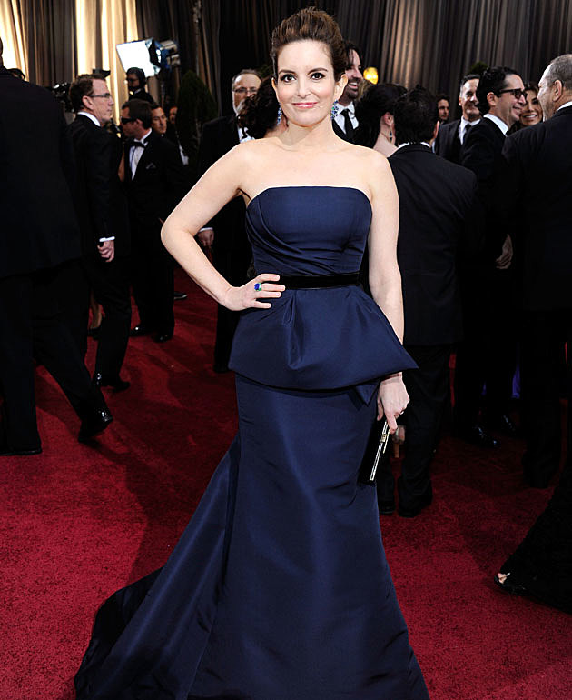 Tina Fey 2012 Oscars Best Dressed